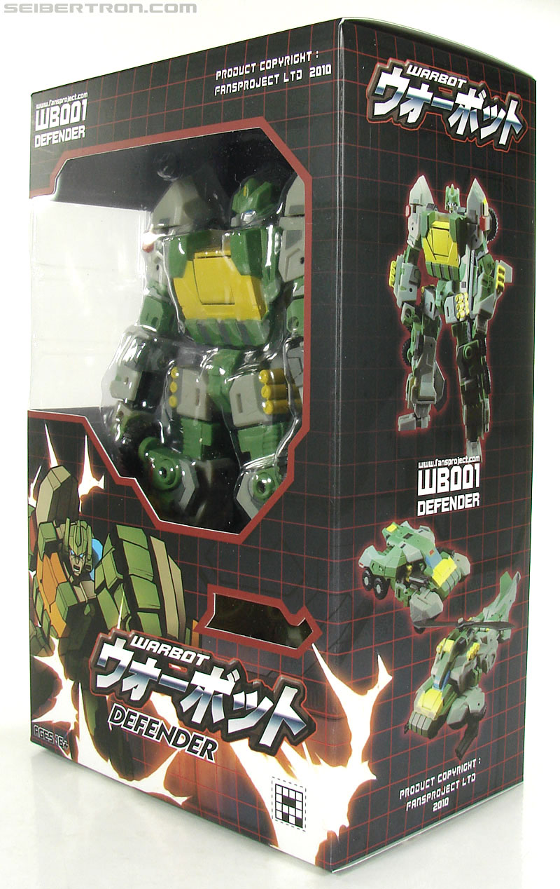 Transformers 3rd Party Products WB001 Warbot Defender (Springer) (Image #3 of 184)