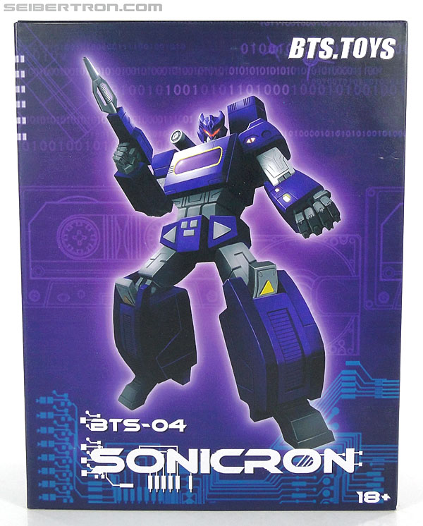 Transformers 3rd Party Products BTS-04 Sonicron (Image #1 of 193)