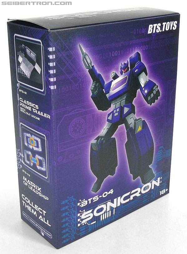 Transformers 3rd Party Products BTS-04 Sonicron (Image #4 of 193)
