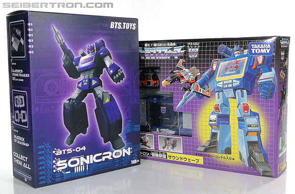 Transformers 3rd Party Products BTS-04 Sonicron (Image #22 of 193)