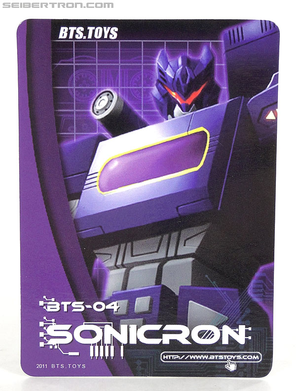 Transformers 3rd Party Products BTS-04 Sonicron (Image #25 of 193)