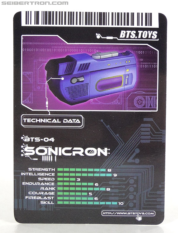 Transformers 3rd Party Products BTS-04 Sonicron (Image #26 of 193)