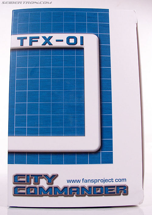 Transformers 3rd Party Products TFX-01 City Commander (Ultra Magnus) (Image #9 of 269)