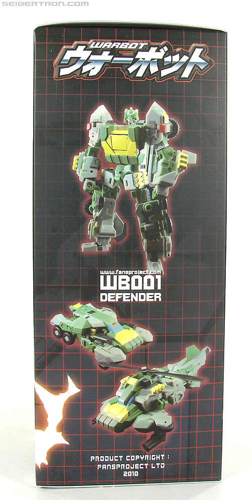 Transformers 3rd Party Products WB001 Warbot Defender (Springer) (Image #2 of 184)