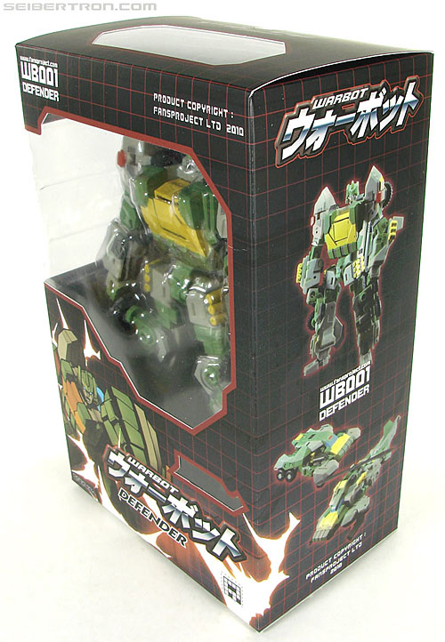 Transformers 3rd Party Products WB001 Warbot Defender (Springer) (Image #4 of 184)