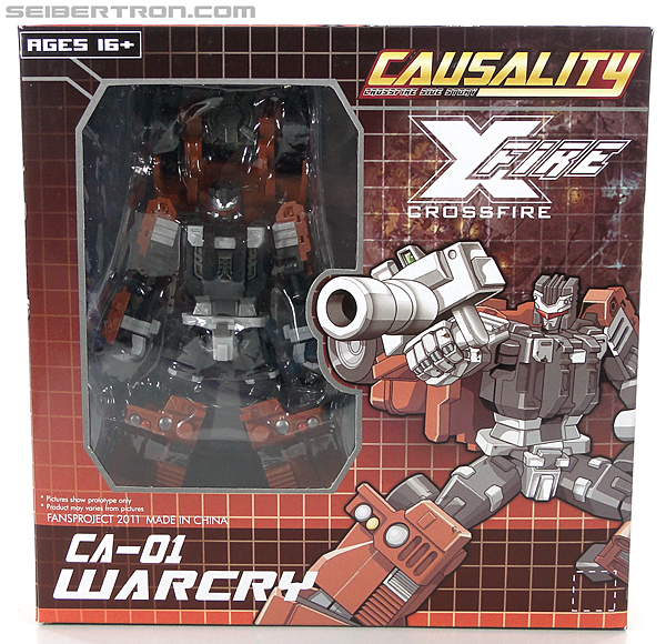 Transformers 3rd Party Products Crossfire CA-01 Warcry (Image #1 of 224)