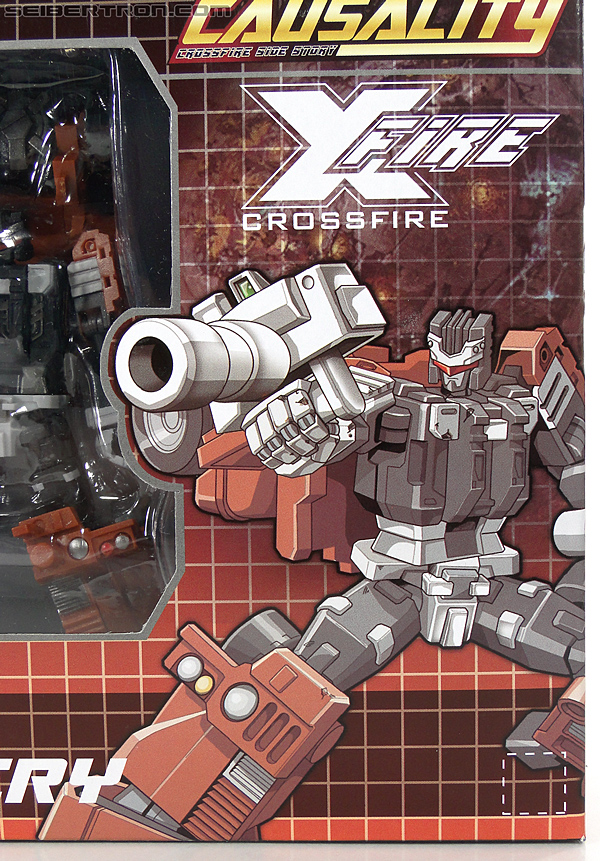 Transformers 3rd Party Products Crossfire CA-01 Warcry (Image #2 of 224)