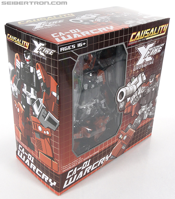 Transformers 3rd Party Products Crossfire CA-01 Warcry (Image #8 of 224)