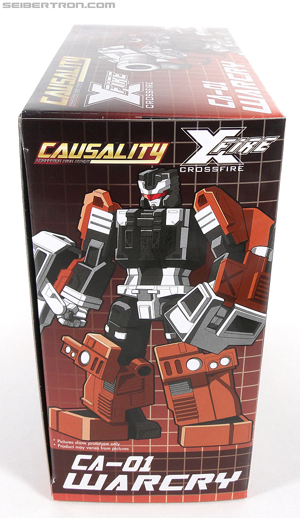 Transformers 3rd Party Products Crossfire CA-01 Warcry (Image #9 of 224)