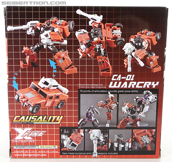 Transformers 3rd Party Products Crossfire CA-01 Warcry (Image #14 of 224)