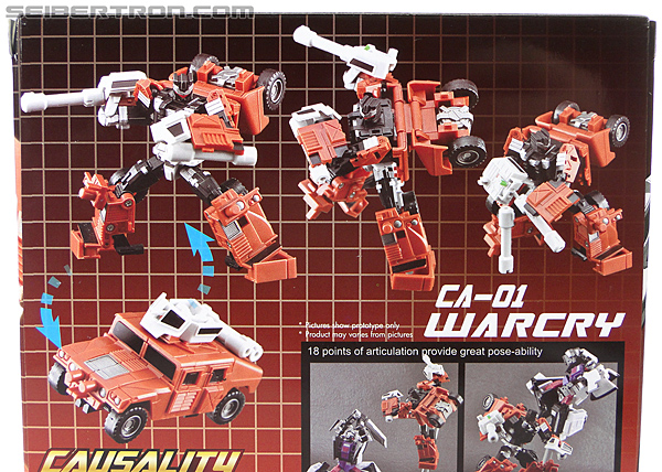 Transformers 3rd Party Products Crossfire CA-01 Warcry (Image #15 of 224)