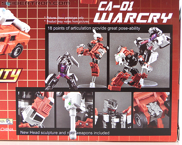 Transformers 3rd Party Products Crossfire CA-01 Warcry (Image #16 of 224)