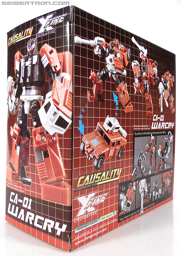 Transformers 3rd Party Products Crossfire CA-01 Warcry (Image #17 of 224)