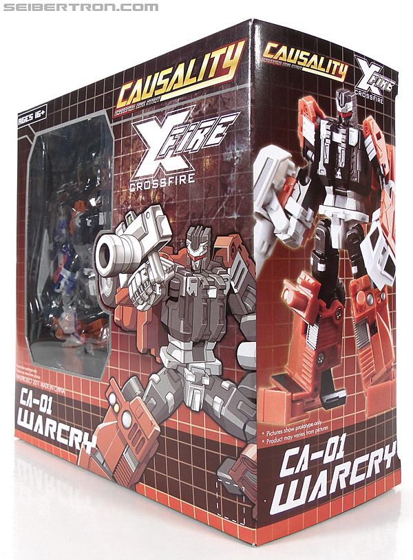 Transformers 3rd Party Products Crossfire CA-01 Warcry (Image #19 of 224)
