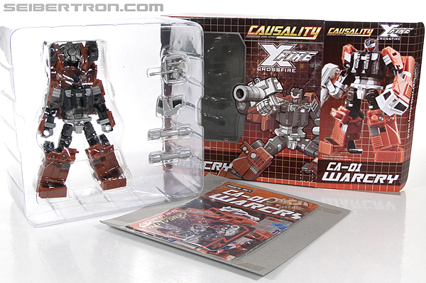 Transformers 3rd Party Products Crossfire CA-01 Warcry (Image #23 of 224)
