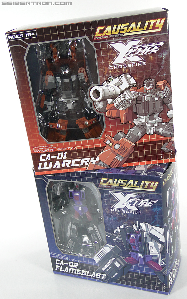 Transformers 3rd Party Products Crossfire CA-01 Warcry (Image #27 of 224)