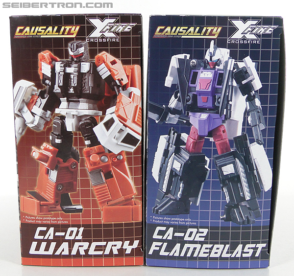 Transformers 3rd Party Products Crossfire CA-01 Warcry (Image #28 of 224)