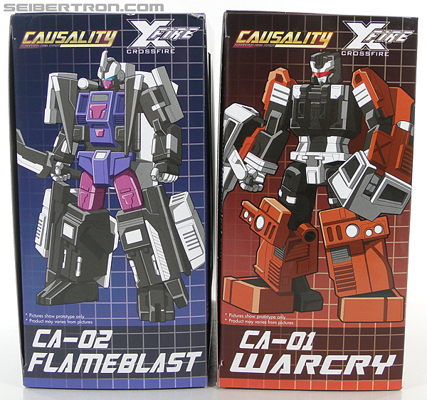 Transformers 3rd Party Products Crossfire CA-01 Warcry (Image #29 of 224)