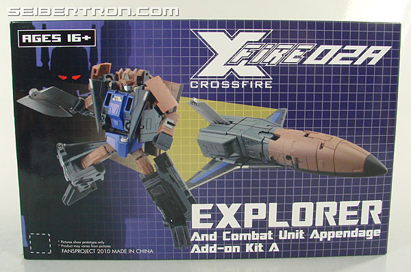 Transformers 3rd Party Products Crossfire 02A Combat Unit Explorer (Blast Off) (Image #1 of 164)