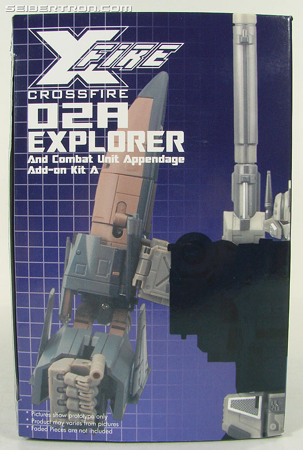 Transformers 3rd Party Products Crossfire 02A Combat Unit Explorer (Blast Off) (Image #5 of 164)