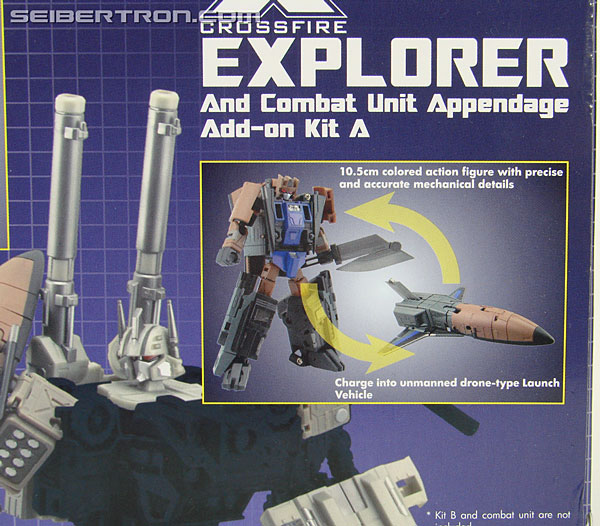 Transformers 3rd Party Products Crossfire 02A Combat Unit Explorer (Blast Off) (Image #8 of 164)