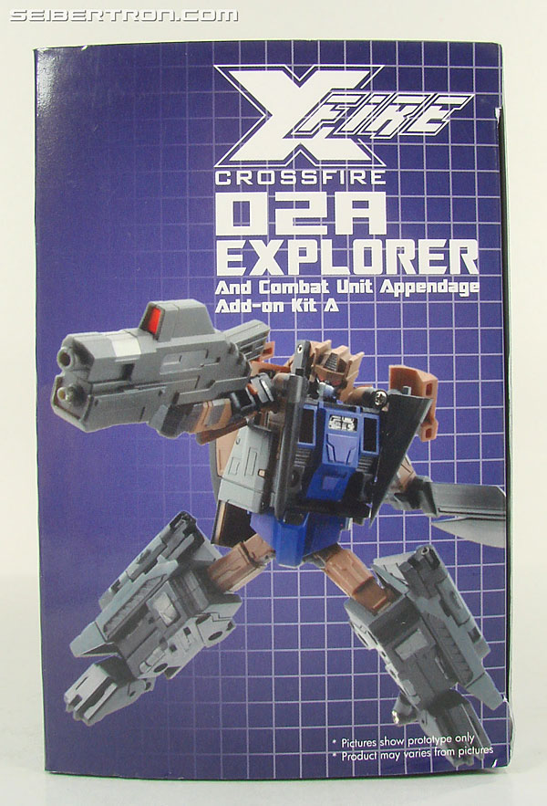 Transformers 3rd Party Products Crossfire 02A Combat Unit Explorer (Blast Off) (Image #14 of 164)