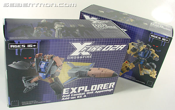 Transformers 3rd Party Products Crossfire 02A Combat Unit Explorer (Blast Off) (Image #25 of 164)
