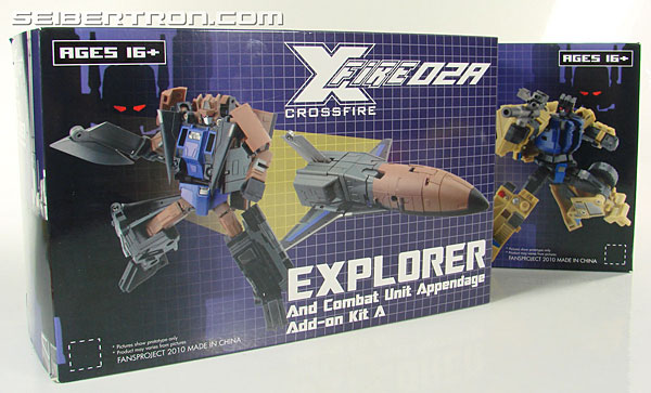 Transformers 3rd Party Products Crossfire 02A Combat Unit Explorer (Blast Off) (Image #26 of 164)
