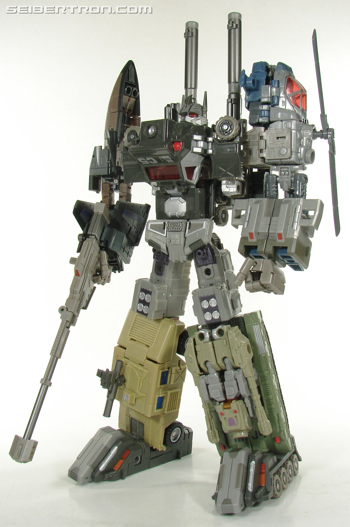Transformers 3rd Party Products Crossfire Combat Unit Full Colossus Combination (Bruticus) (Image #42 of 188)