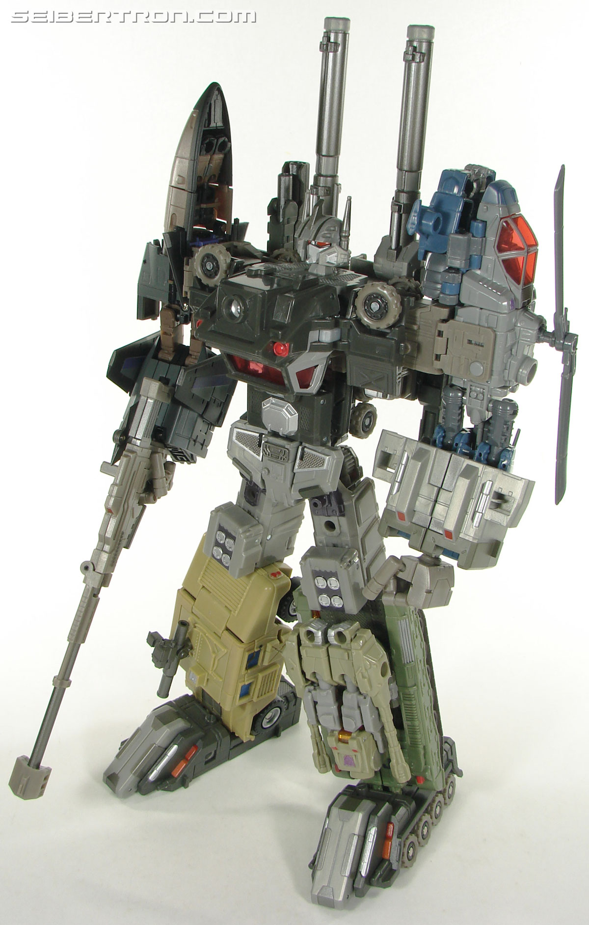 Transformers 3rd Party Products Crossfire Combat Unit Full Colossus Combination (Bruticus) (Image #43 of 188)