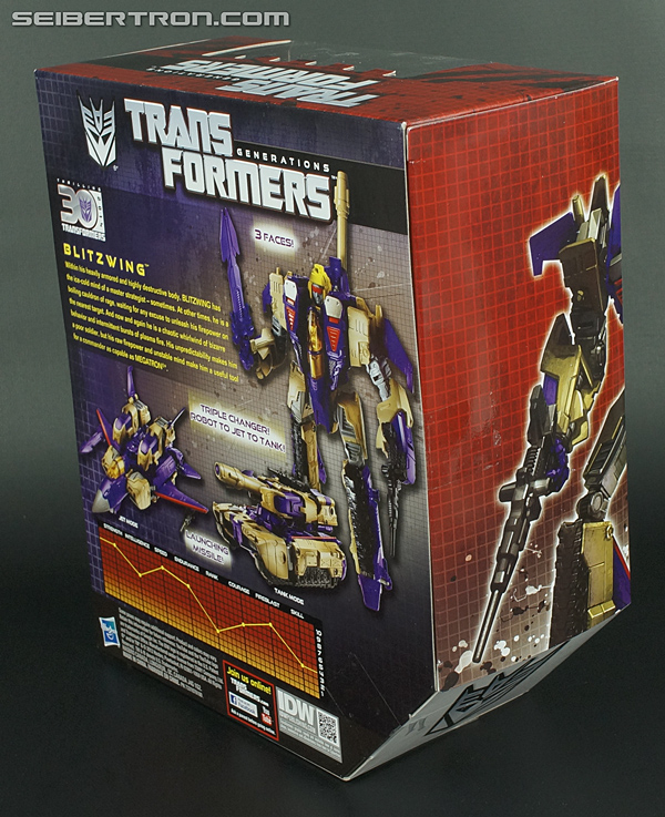 Transformers Generations Blitzwing Toy Gallery (Image #8 ...