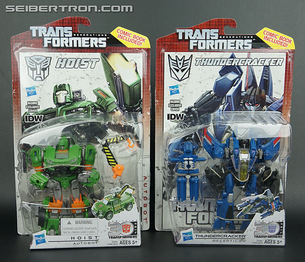 New Seibertron Galleries: Generations IDW Hoist and Thundercracker