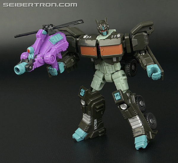 Transformers News: New Galleries: Legends Class Nemesis Prime with Spinister and Cliffjumper with Suppressor