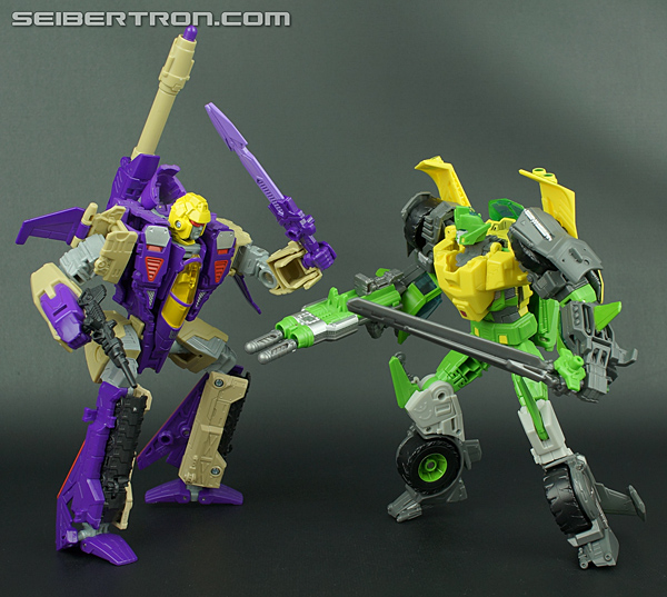 New Galleries: Transformers Generations Voyager Class Blitzwing and Springer