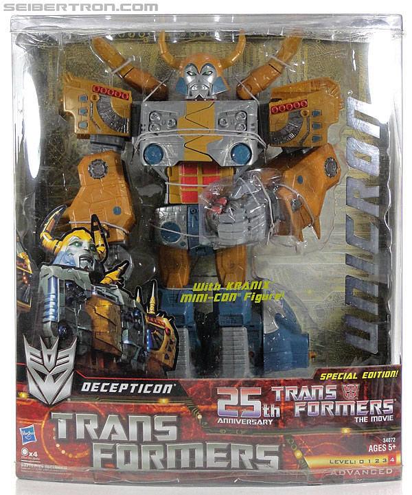 Transformers Generations Unicron (25th Anniversary) (Universal Dominator Unicron) (Image #1 of 262)