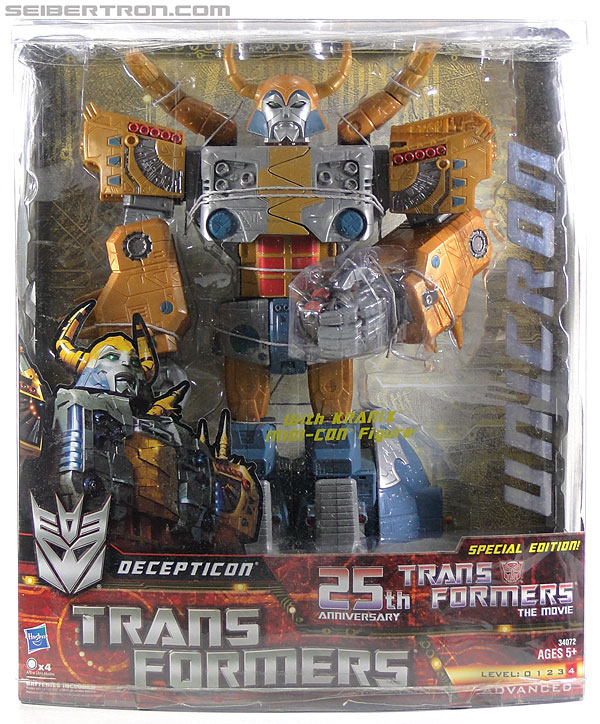 Transformers Generations Unicron (25th Anniversary) (Universal Dominator Unicron) (Image #2 of 262)