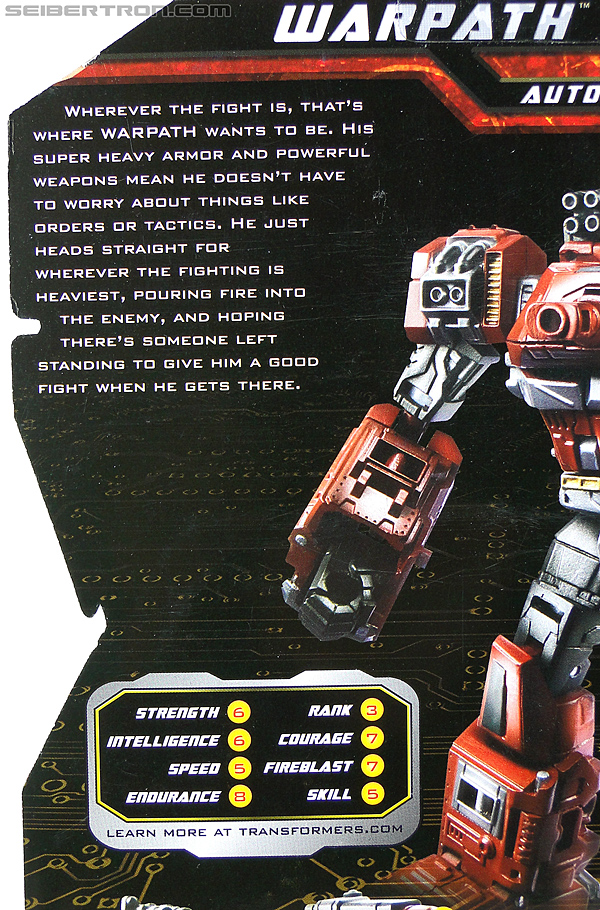 Transformers Generations Warpath (Image #17 of 142)