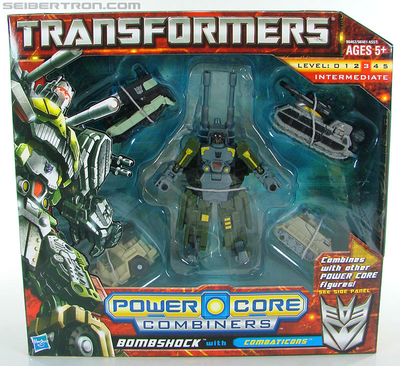 Transformers Power Core Combiners Bombshock with Combaticons (Image #1 of 151)