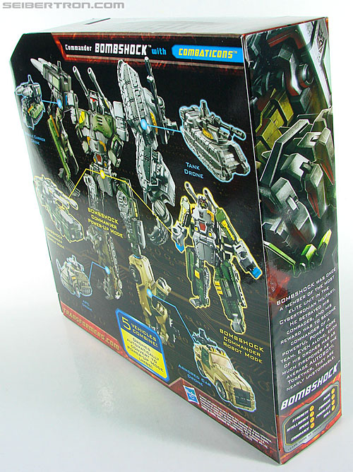 Transformers Power Core Combiners Bombshock with Combaticons (Image #10 of 151)