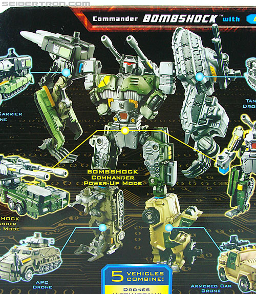 Transformers Power Core Combiners Bombshock with Combaticons (Image #12 of 151)
