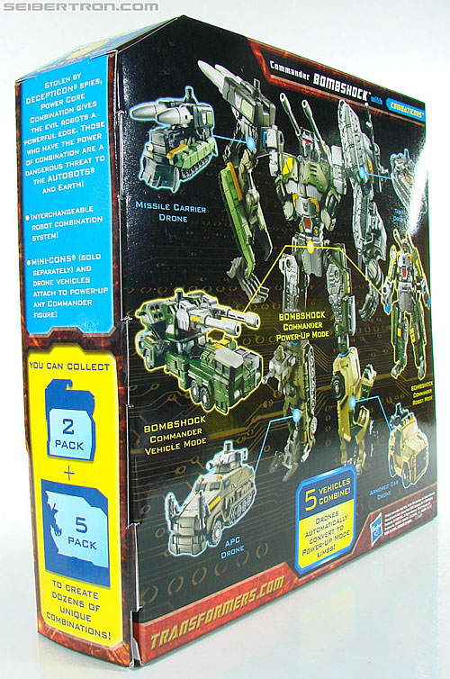 Transformers Power Core Combiners Bombshock with Combaticons (Image #15 of 151)