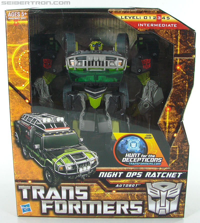 Transformers Hunt For The Decepticons Night Ops Ratchet (Image #1 of 124)