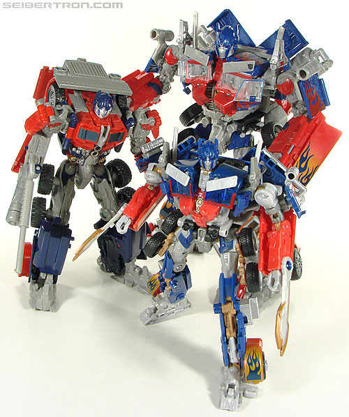 Battle Blades Optimus Prime -
