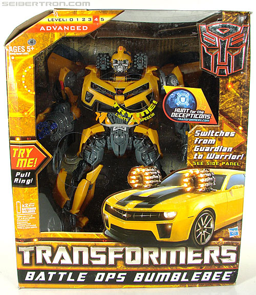 Transformers Hunt For The Decepticons Battle Ops Bumblebee (Image #1 of 154)