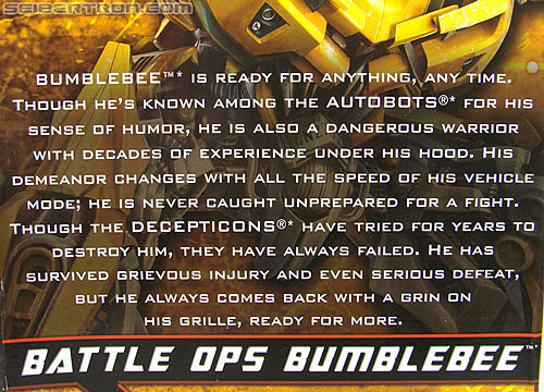 Transformers Hunt For The Decepticons Battle Ops Bumblebee (Image #8 of 154)