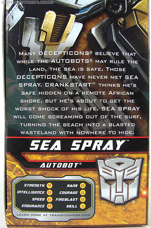 Transformers Hunt For The Decepticons Sea Spray (Image #8 of 145)
