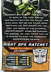 Hunt For The Decepticons Night Ops Ratchet - Image #8 of 124