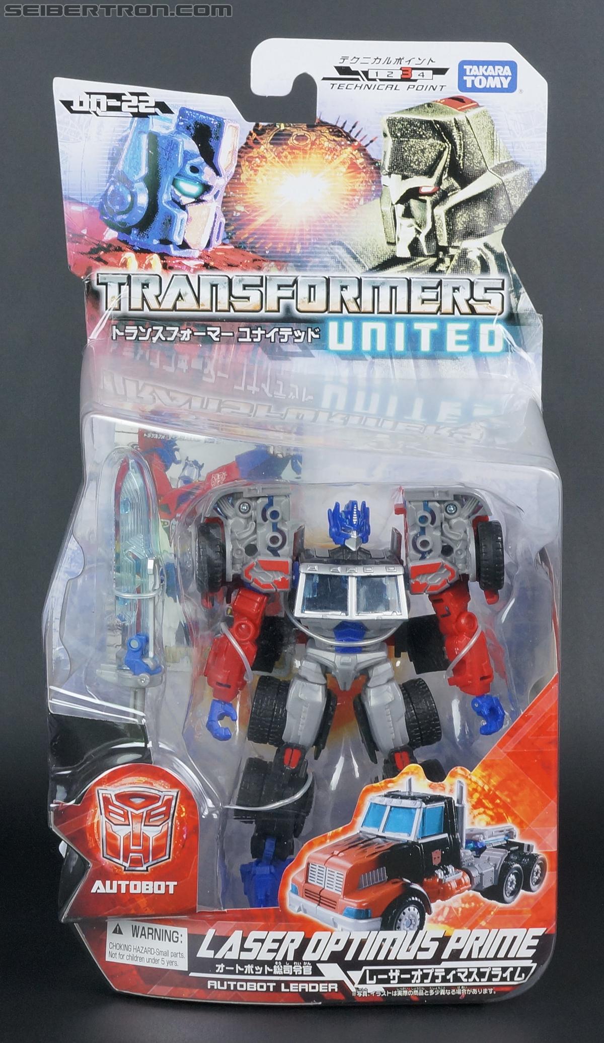 Transformers United Laser Optimus Prime (Image #1 of 133)