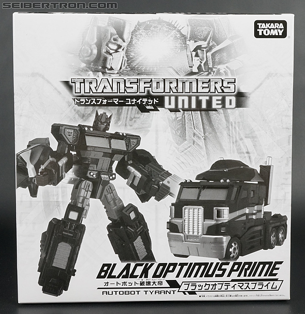 Transformers United Black Optimus Prime (Image #1 of 183)