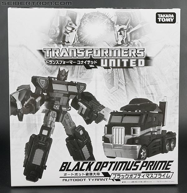 Transformers United Black Optimus Prime (Image #1 of 183)
